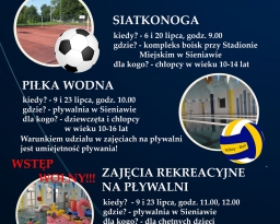 Zdjęcia główne wydarzenia: Sportowe wakacje z CKSiR