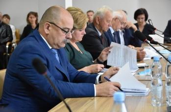 Zdjęcie: XXVII sesja Rady Miejskiej w Sieniawie