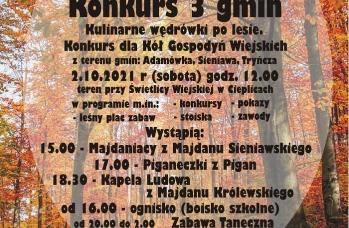 Zdjęcie: Plakat Konkurs 3 Gmin