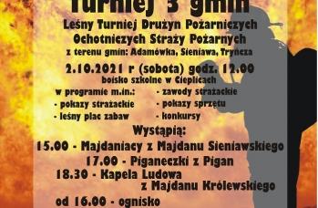Zdjęcie: Plakat Turniej 3 Gmin