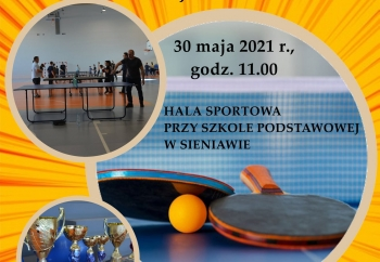 Zdjęcie główne dla: 'XI Rodzinny Turniej Tenisa Stołowego'