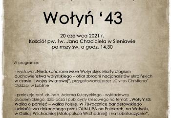 Zdjęcie główne dla: 'Wołyń `43'