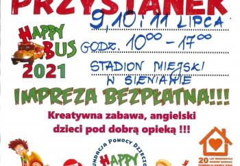 Zdjęcie główne dla: 'Happy Bus w Sieniawie - trzy dni atrakcji dla dzieci'