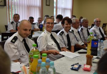 Zdjęcie główne dla: 'Zebranie sprawozdawczo-wyborcze członków OSP w Sieniawie'