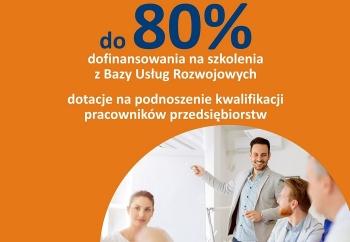 """Zdjęcie główne dla: 'Dotacje na szkolenia pracowników przedsiębiorstw - nabór w ramach projektu PARR S.A. pt. """"Fundusz Usług Rozwojowych""""'"""