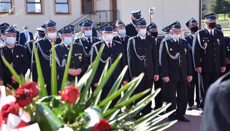 Zdjęcie główne newsa: Gminny Dzień Strażaka w Czercach - poświęcenie remizy i figury św. Floriana