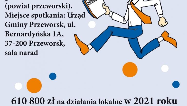 Zdjęcie główne newsa: Spotkanie informacyjne w związku prowadzonym naborem wniosków w ramach Podkarpackich Inicjatyw Lokalnych 2021