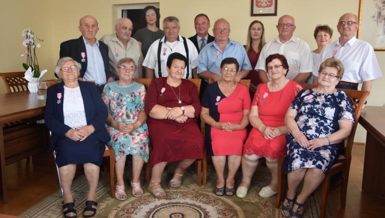 Zdjęcie główne newsa: Złote Gody w Sieniawie, 22.08.2021 r.