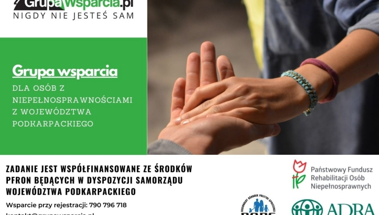 Zdjęcie główne newsa: Rusza program bezpłatnej pomocy psychologiczno-prawnej dla osób niepełnosprawnych z województwa podkarpackiego