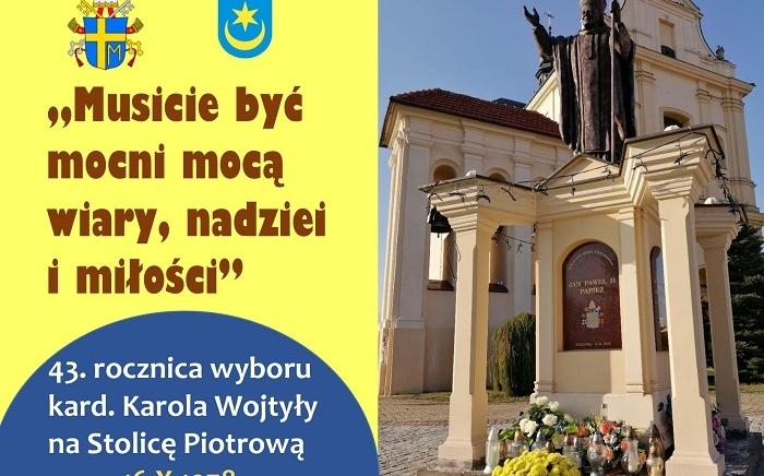 Zdjęcie główne newsa: Habemus papam - 43. rocznica wyboru kard. Karola Wojtyły na Stolicę Piotrową